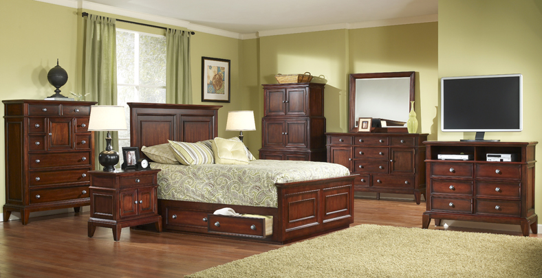 Lancaster Bedroom Collection With Underbed Storage